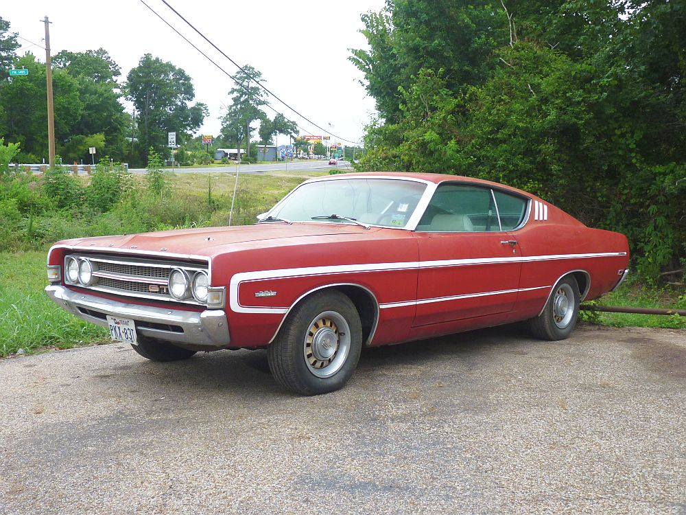 69 Torino GT Front 3_4