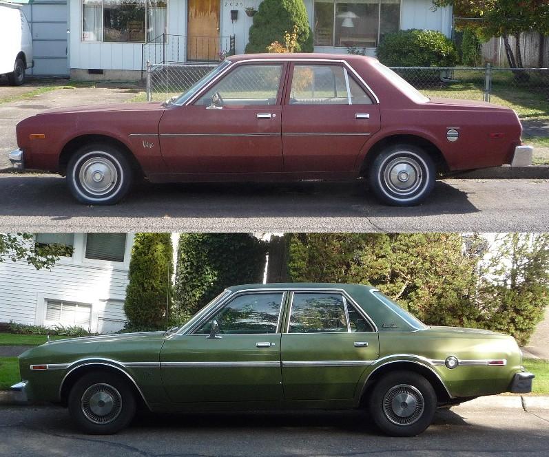 Curbside Classics 1976 Plymouth Volare And Dodge Aspen