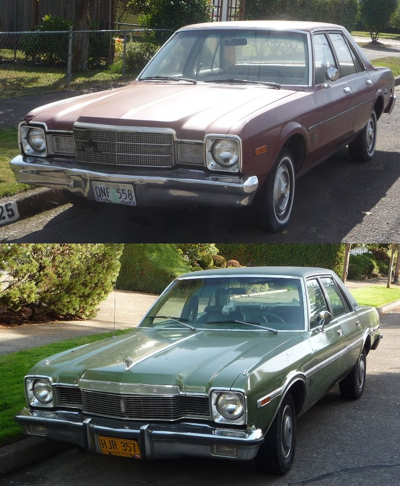 Curbside Classics: 1976 Plymouth Volare And Dodge Aspen