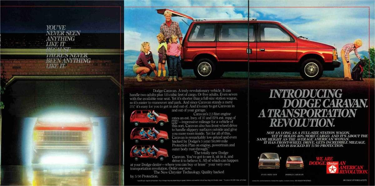 Dodge Caravan on 1984 Dodge Caravan