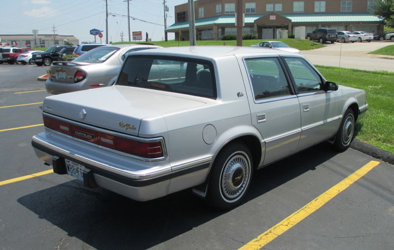 Curbside classic 1990 chrysler new yorker salon no it for 1993 chrysler new yorker salon