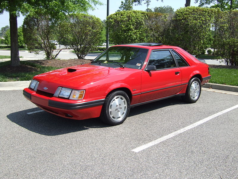 curbside classic 1985 ford mustang svo a turbocharged. Black Bedroom Furniture Sets. Home Design Ideas