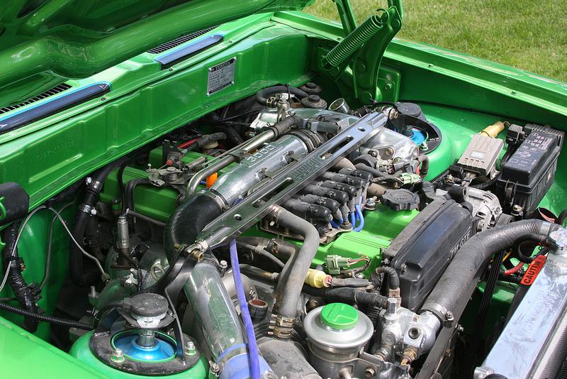 1973 Toyota Corona Mark II engine