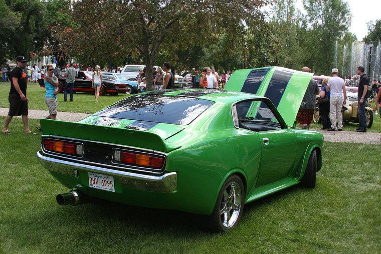 Car Show Classic Supra Powered 1973 Toyota Corona Mark Ii