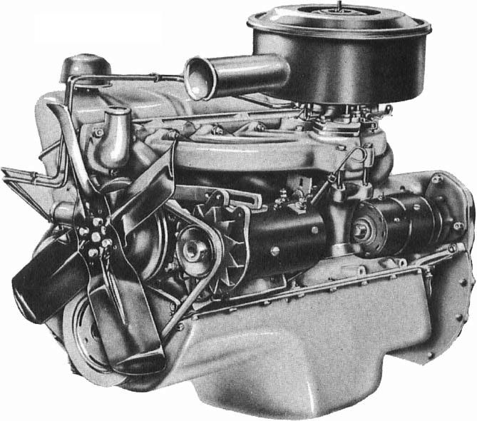 Ssix Illustration on Chrysler 413 Industrial Engine