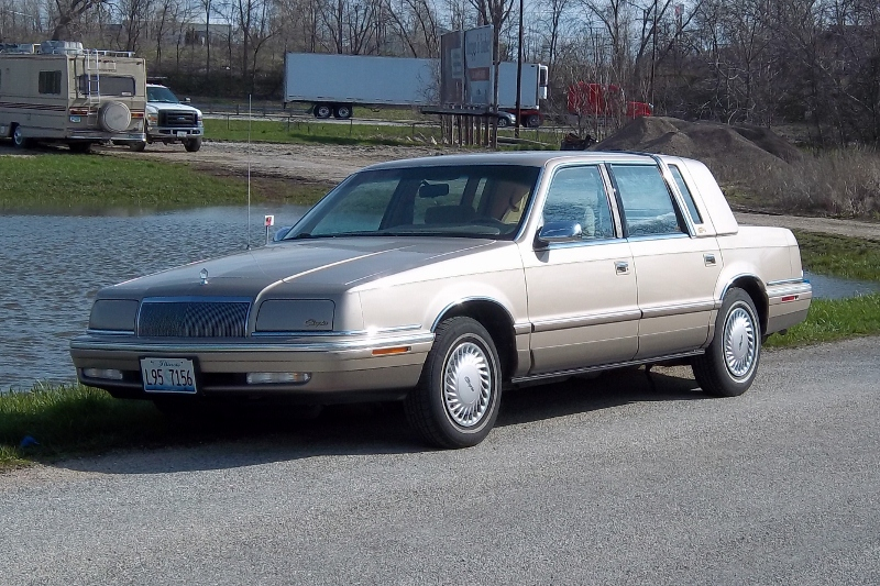 Curbside classic 1992 chrysler new yorker salon going to for 1990 chrysler new yorker salon