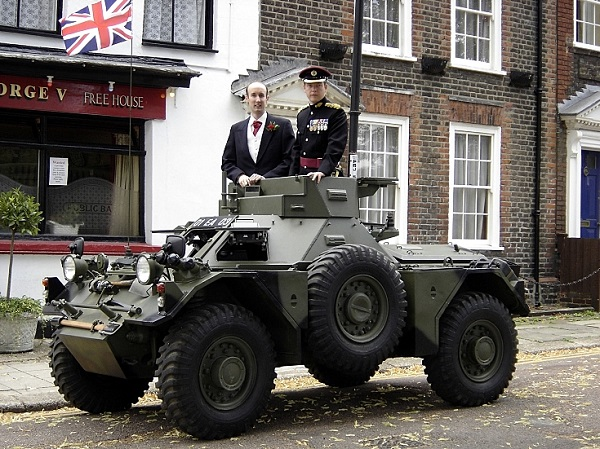 Ferret Armoured Car, Prospect Row, Brompton 2010