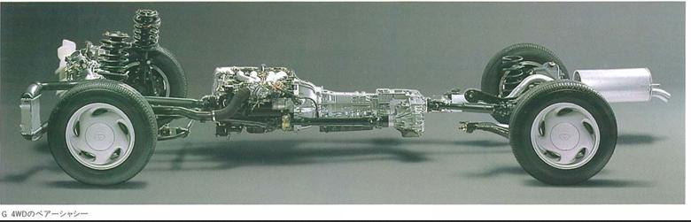 Toyota previa drive train 4wd