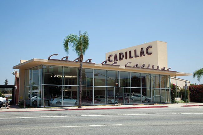 dealership classic casa de cadillac restored to its full 1949 glory. Cars Review. Best American Auto & Cars Review