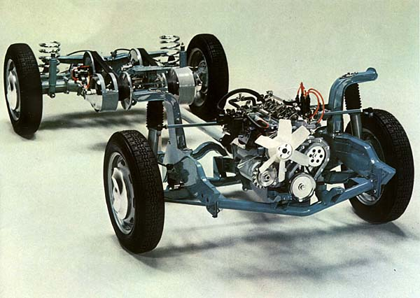 Daf Car Variable Belt Drive