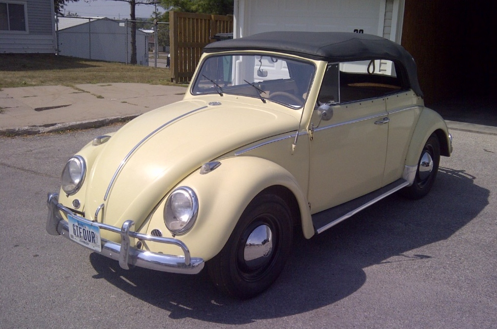 CC For Sale: Anyone Want A Clean '64 VW Karmann-Built 'Vert?