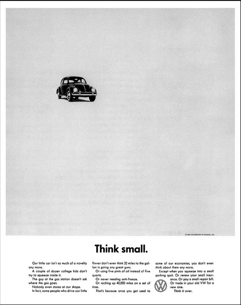 VW Think Small