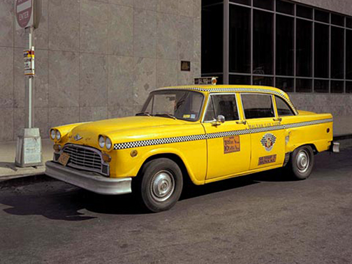 Checker Cab1