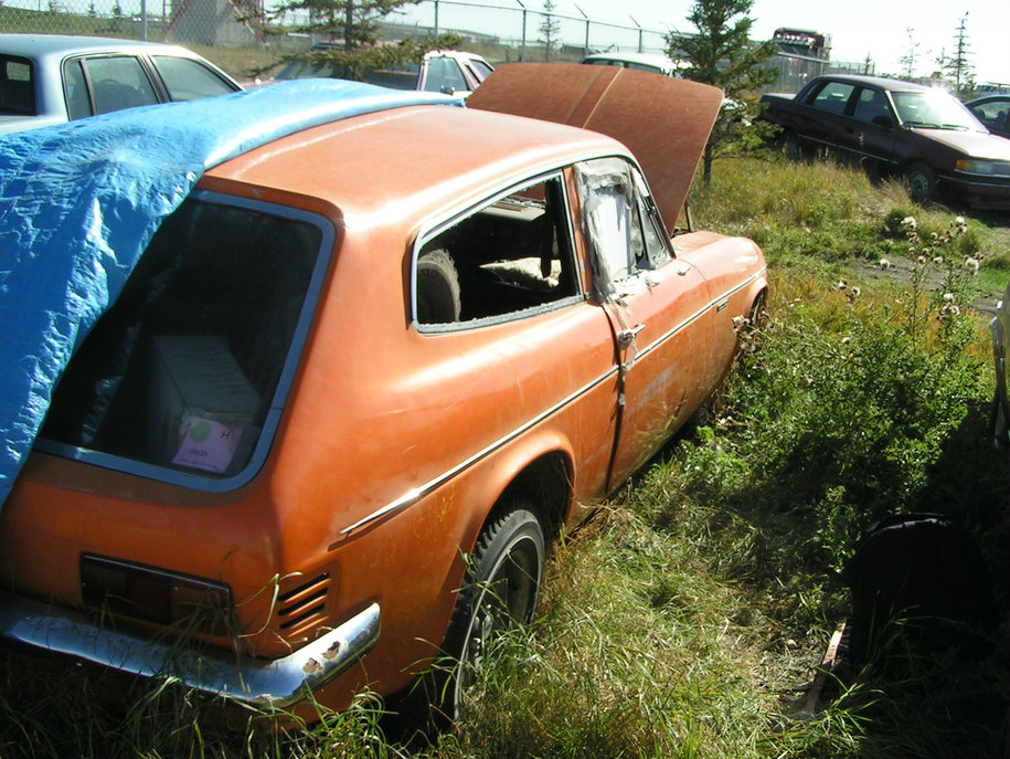 1969 Reliant Scimitar GTE rear