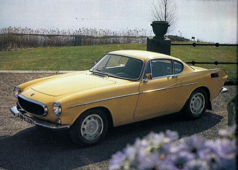 Volvo vintage sports car