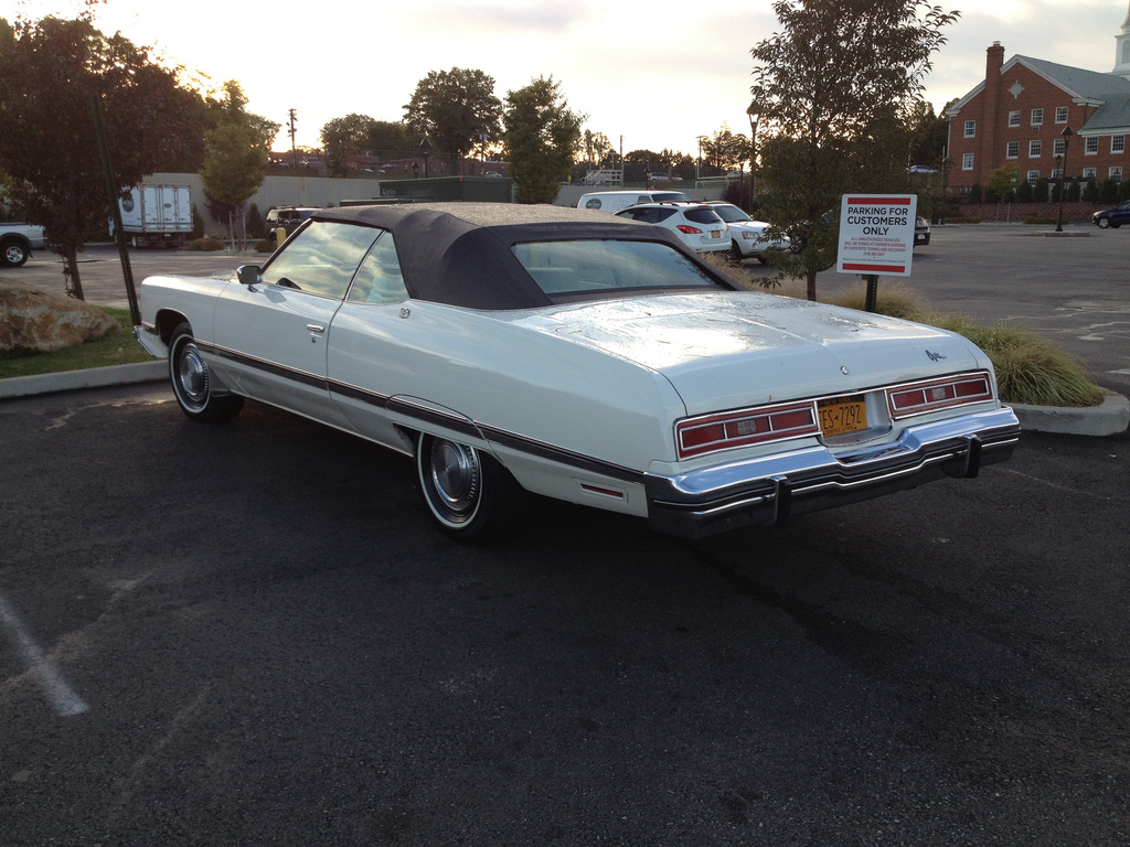 All Chevy 74 chevy : Cohort Classic: 1974 Chevrolet Caprice Classic Convertible – The ...