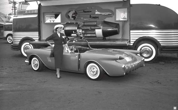 GM Parade of Progress 1954 Oldsmobile F-88 -a