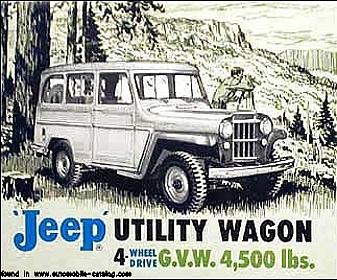 Jeep station wagon 4 wd