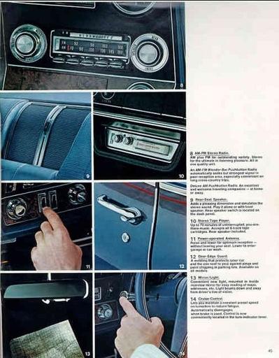 Olds 1969 radio