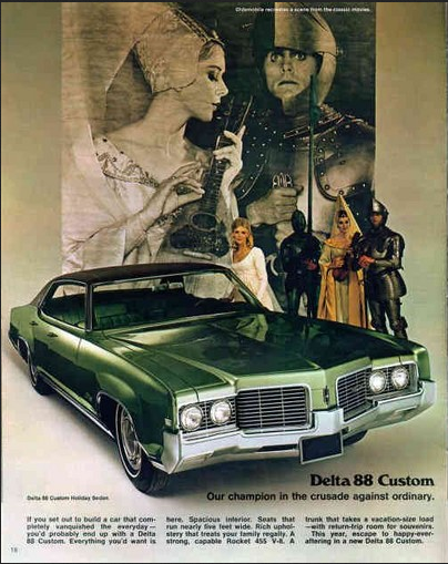 Oldsmobile 1969 Delta 88 custom