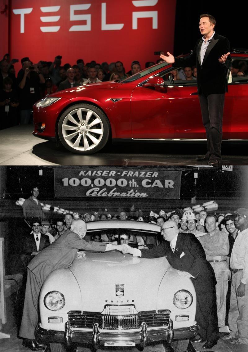 Tesla Motors CEO Elon Musk speaks during the Model S Beta Event held at the Tesla factory in Fremont