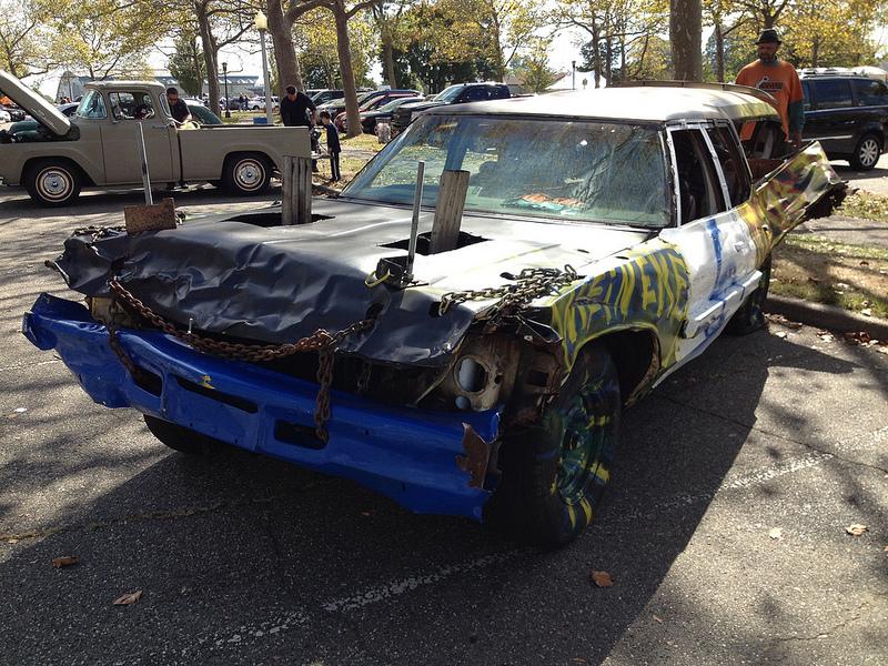 demo car f