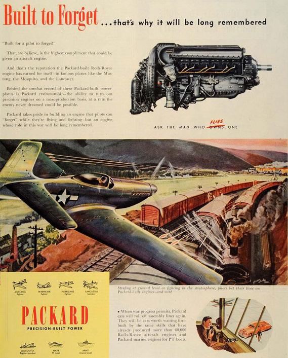 packard P-51a