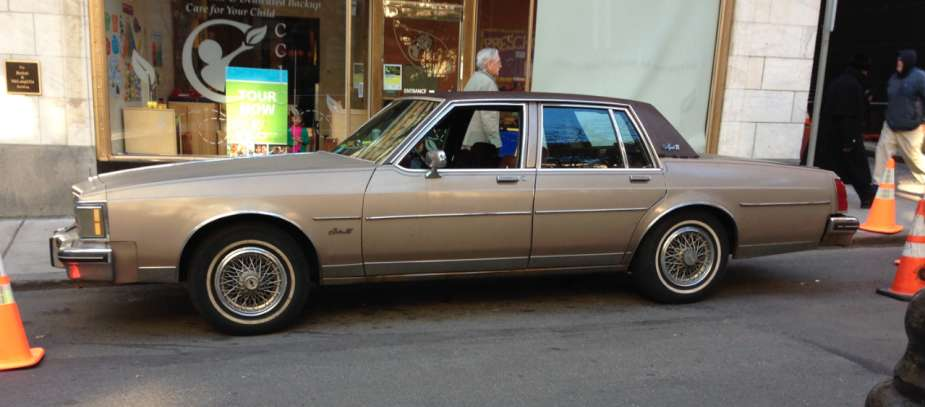 Curbside Classic 1983 Oldsmobile Delta 88 Royale Brougham