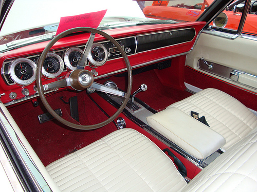 Dodge Charger 66 int fr