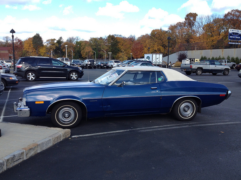 cohort sighting 1973 ford torino just waiting to be. Black Bedroom Furniture Sets. Home Design Ideas