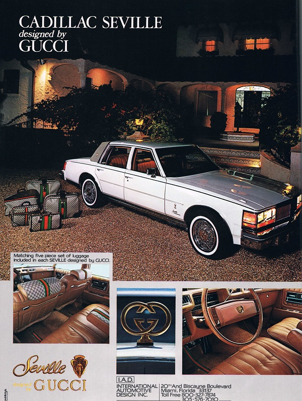 Vintage Ad Seville Designed By Gucci Beyond Brougham