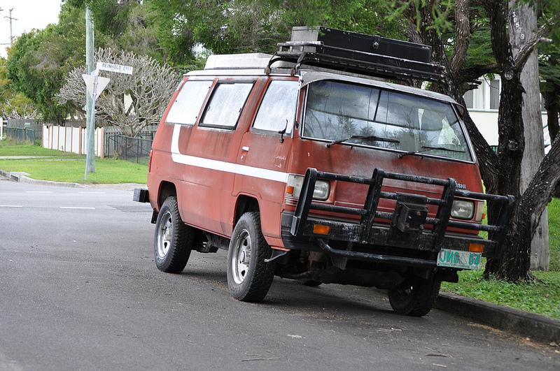 Mitsubishi van fq Dave