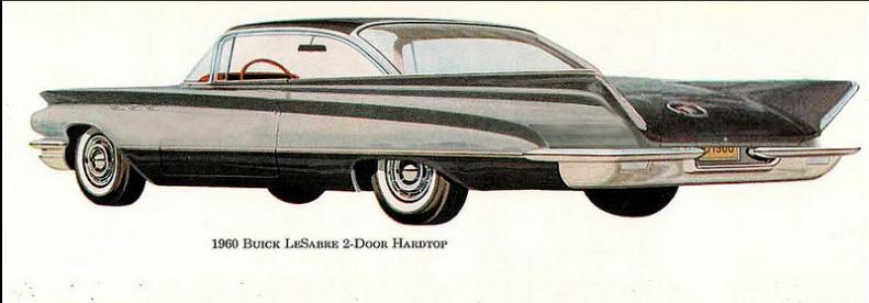 PB Buick leSabre 1960