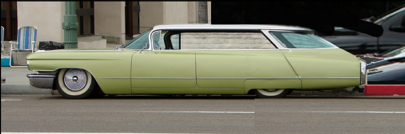 PB Cadillac wagon 1960