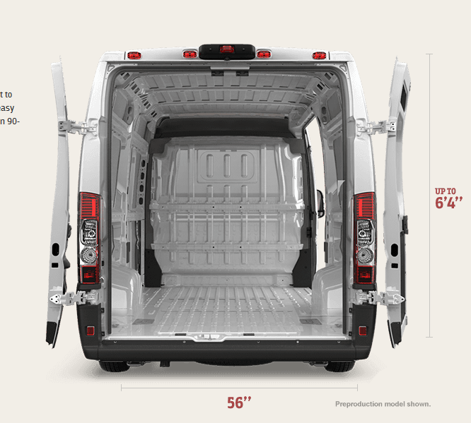 The Eurovan Revolution Arrives 2014 Ram Promaster And