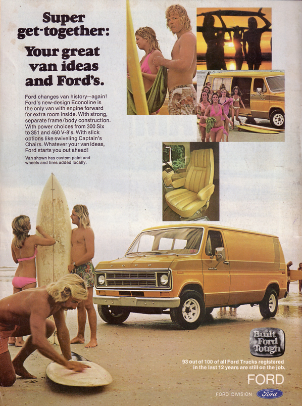 Seventies Vannin Vintage Ads Including A Racy One