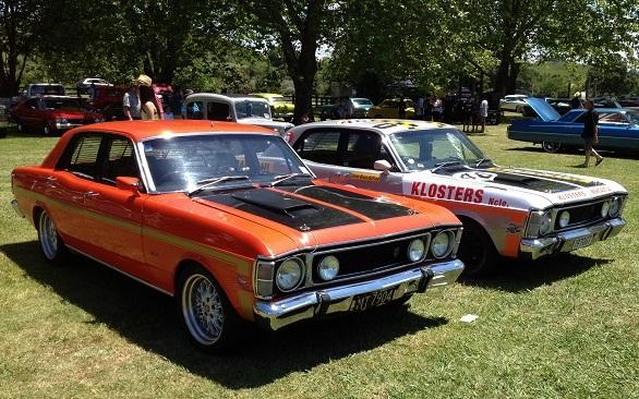 16. 1970 XW Ford Falcon sedans
