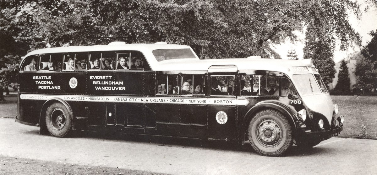 Bus Kenworth 1937 bus
