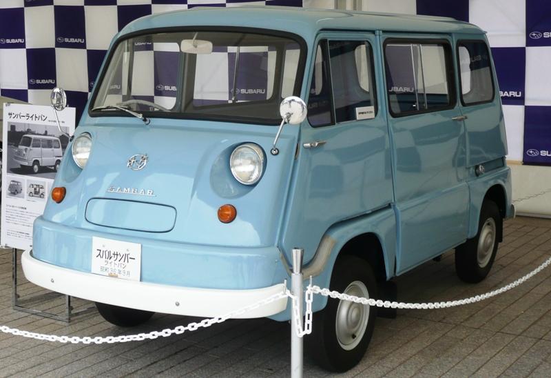Junkyard CC Capsule: Subaru 360 Sambar Van: The First Kei