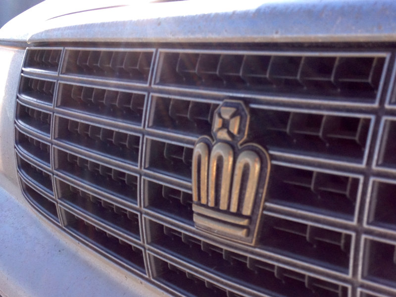 Toyota Crown grill