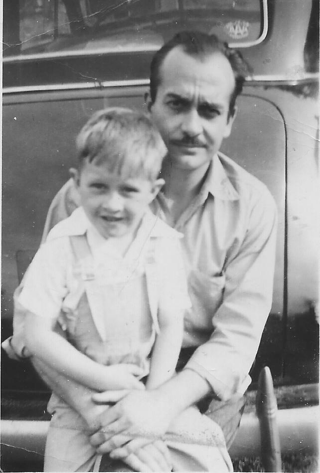 Dad & Ed May 30, 1948