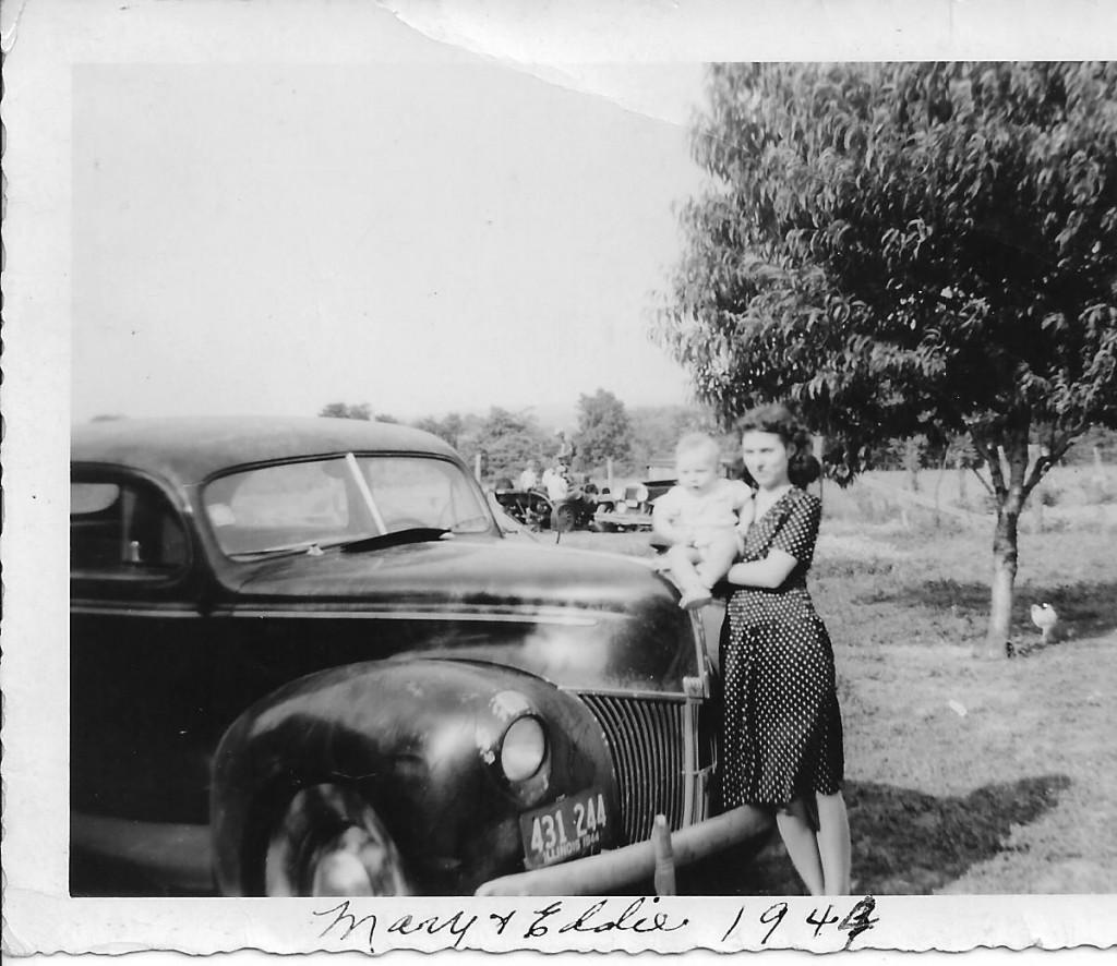 Mom & Ed 1944