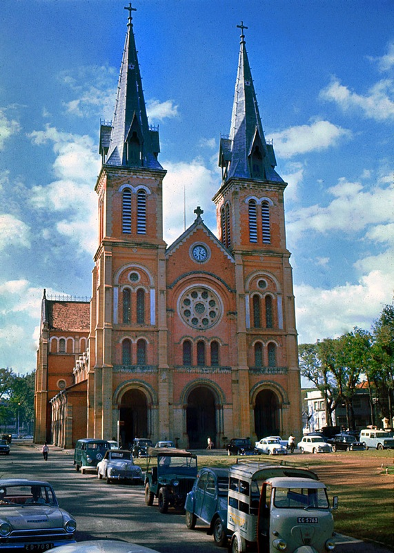 Saigon Cathedral 1960s