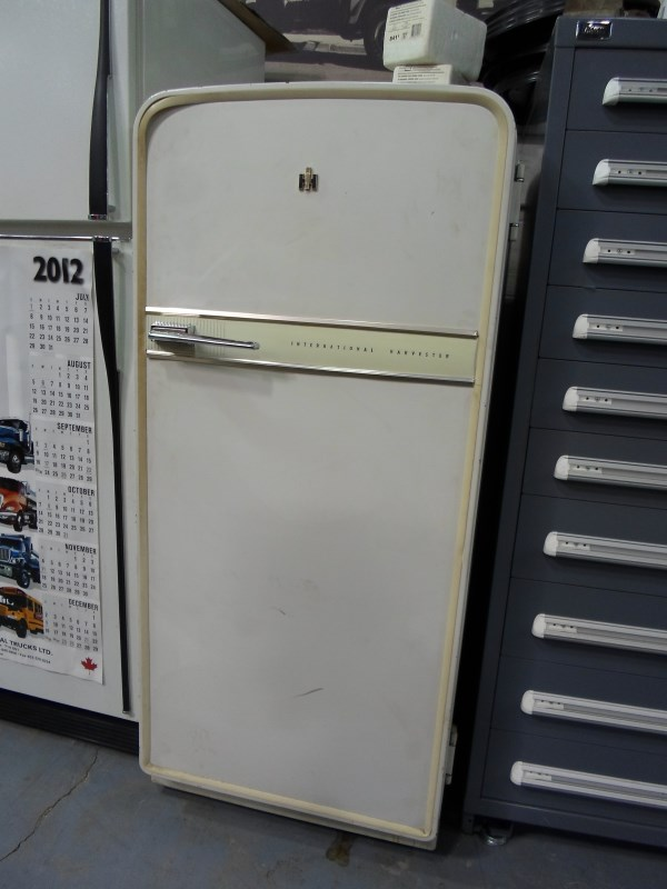 Fridge on 1962 International Truck 4 Door