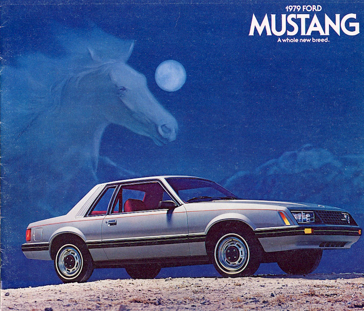 Coal 1979 Mustang Turbo The Old All New Mustang