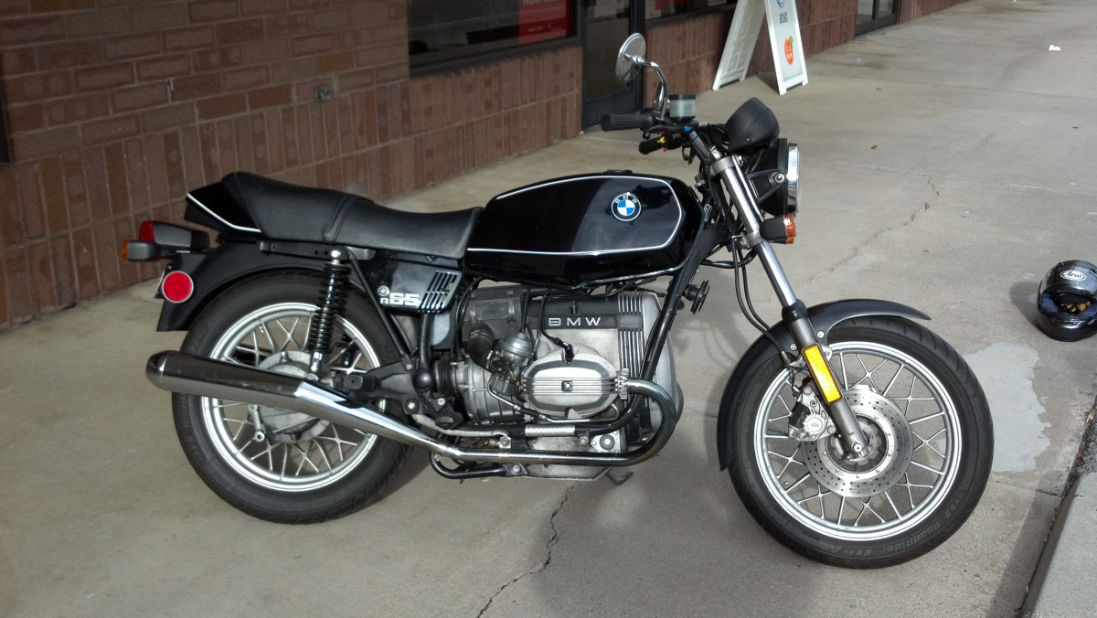 bikes of a lifetime: 1983 bmw r65 – shoulda' kept it forever