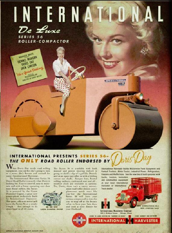 Doris Day Roller