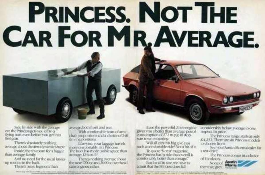 Leyland Princess advert 1979