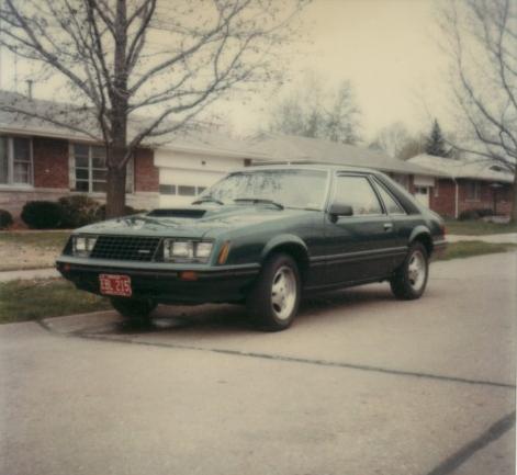 Mustang 1979 turbo