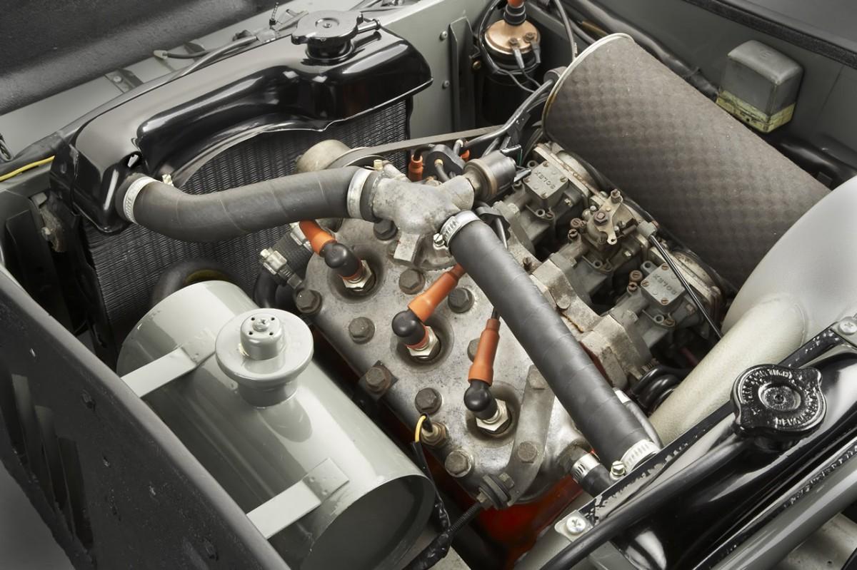Saab Sonnet II engine